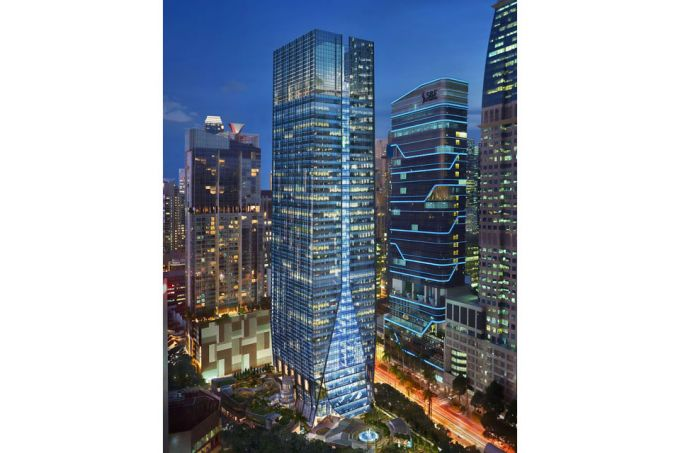 French energy giant total leases over 100 000 sq ft at frasers tower office spaces - Shiseido singapore office ...