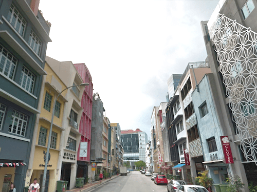 Shophouses in Clarke Quay