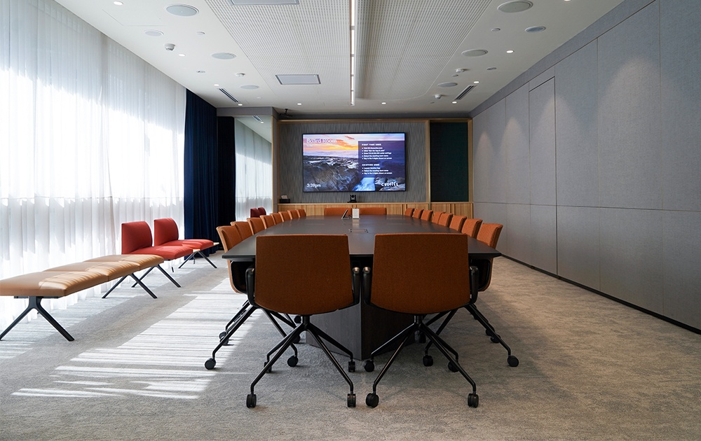 Meeting room in csuites co-working space