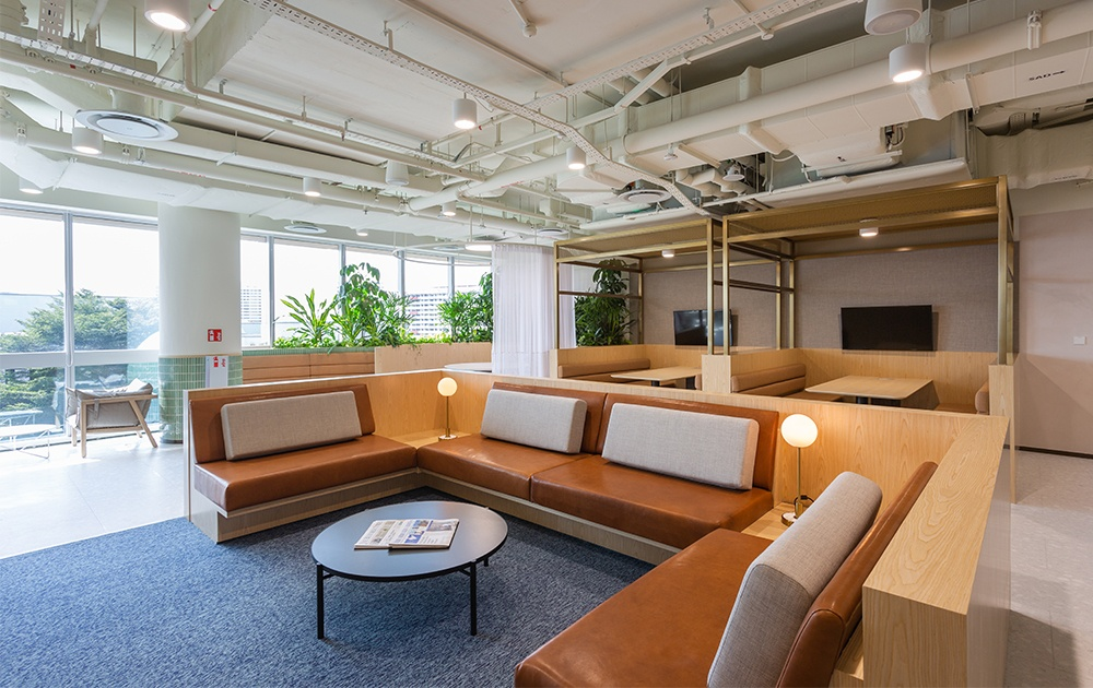 The interior of the new csuites co-working space in PLQ