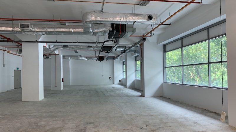 B1 Industrial Building office interior