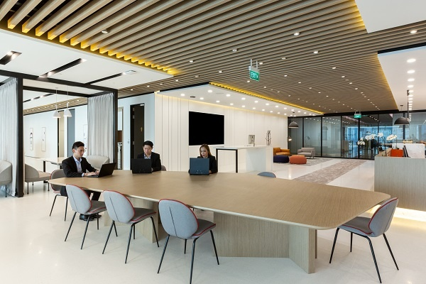 Regus Serviced Office, Asia Square