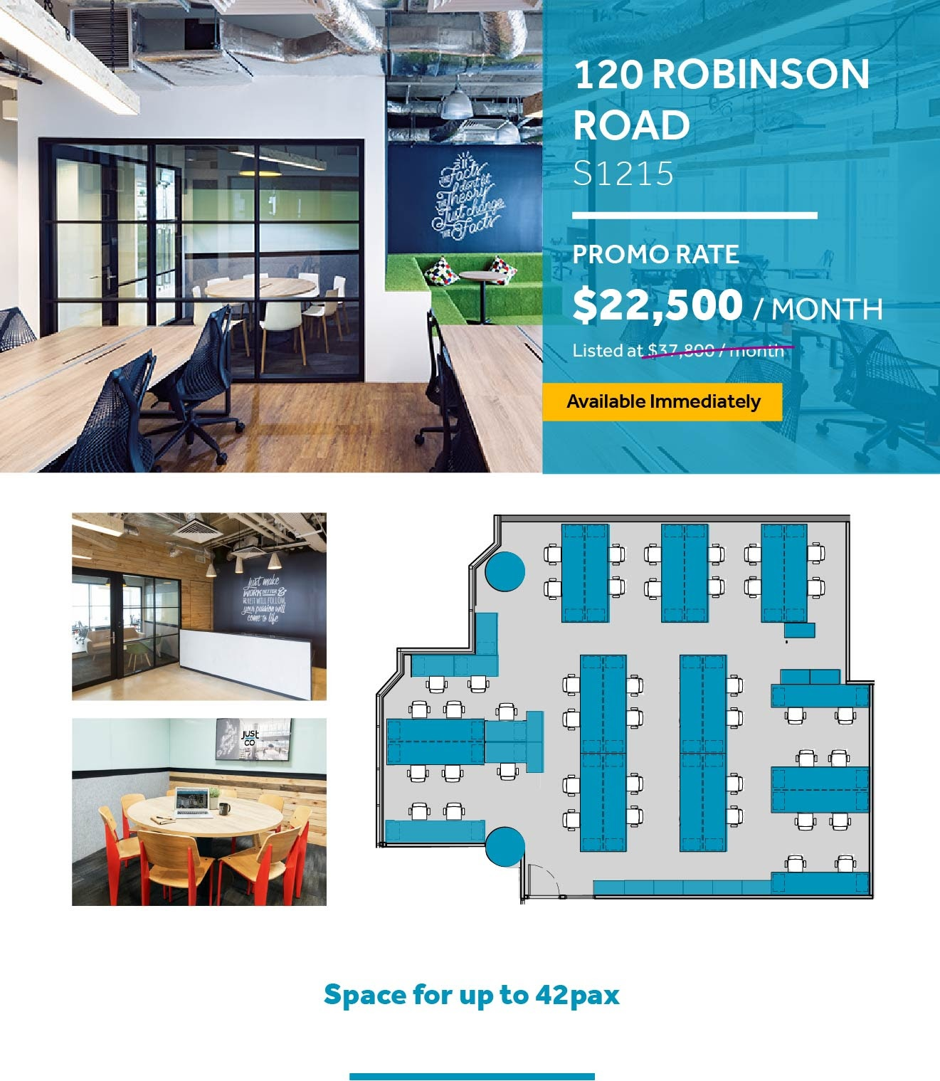 120 Robinson office promo