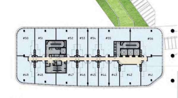 Woods Square SOLO 1 Office floor plan